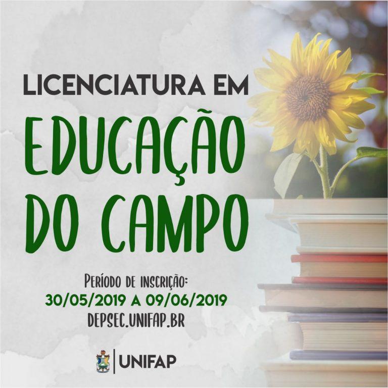 Unifap oferece 40 vagas para Licenciatura em Educação do Campo em Mazagão