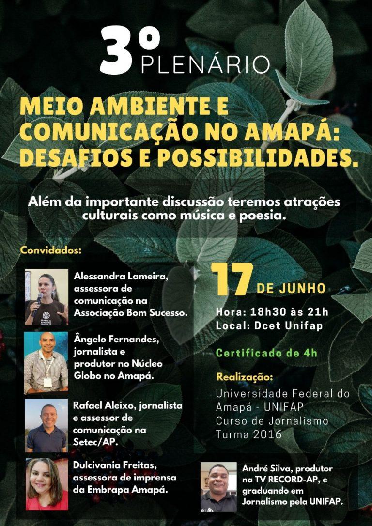Curso de Jornalismo debate papel da comunicação nos problemas ambientais