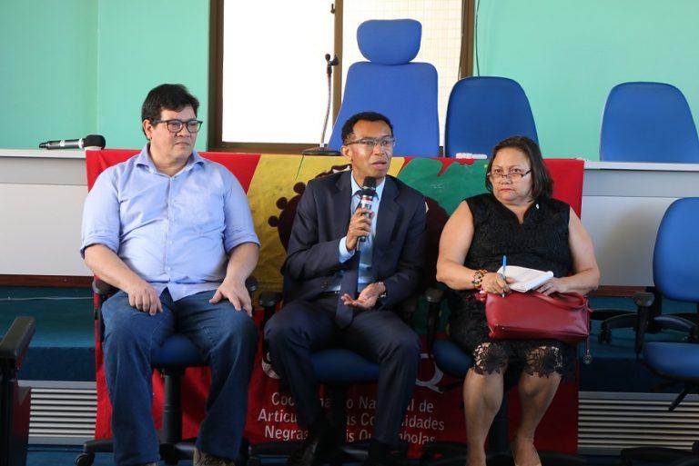 Unifap recebe visita do presidente da Fundação Palmares