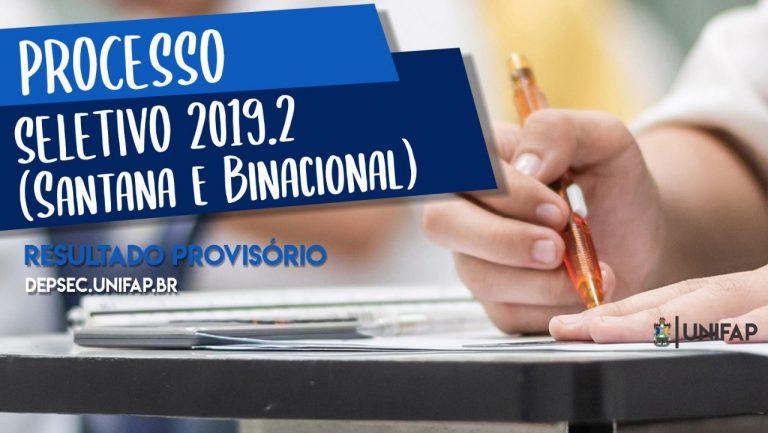 Confira o resultado provisório do PS 2019.2 para Santana e Oiapoque