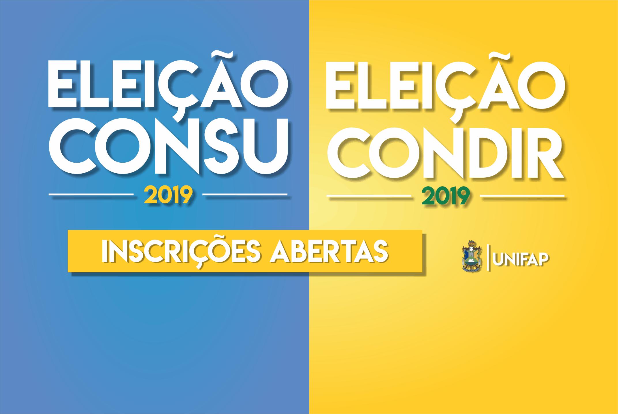 Acompanhe o Processo Eleitoral do CONSU e CONDIR