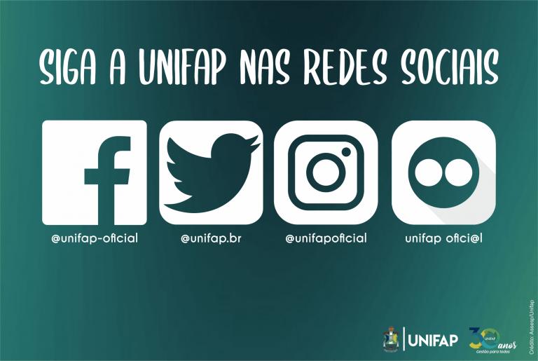 Conheça as Redes Sociais Oficiais da UNIFAP