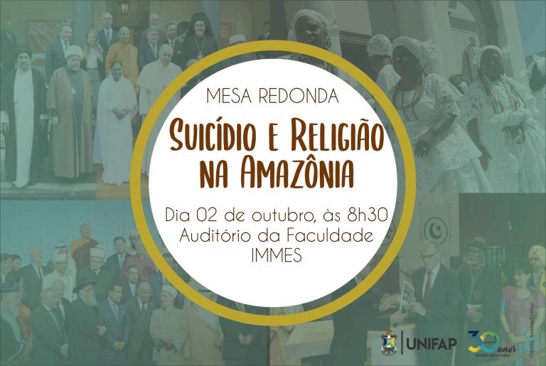 Lideranças refletem sobre 'Suicídio e religião na Amazônia', nesta terça-feira, 2