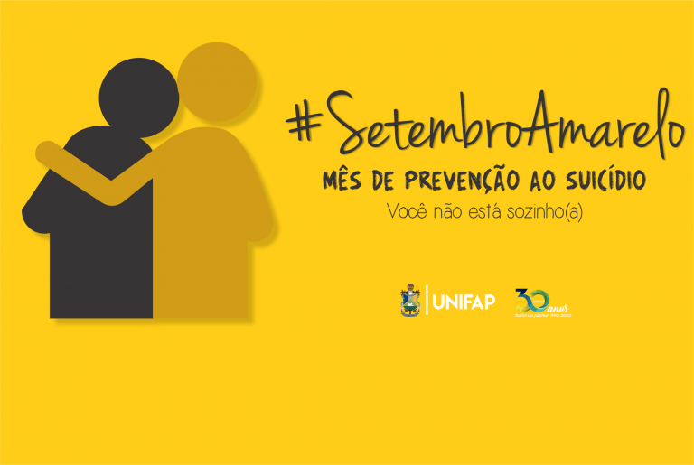 'Setembro Amarelo' propõe ações de prevenção ao suicídio