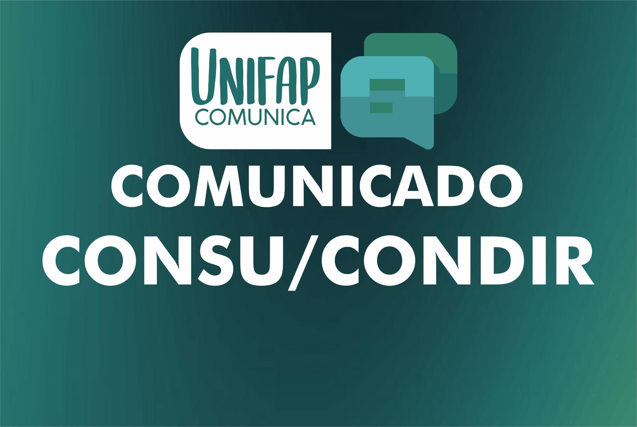Comissão suspende eleição para categoria docente CONSU/CONDIR