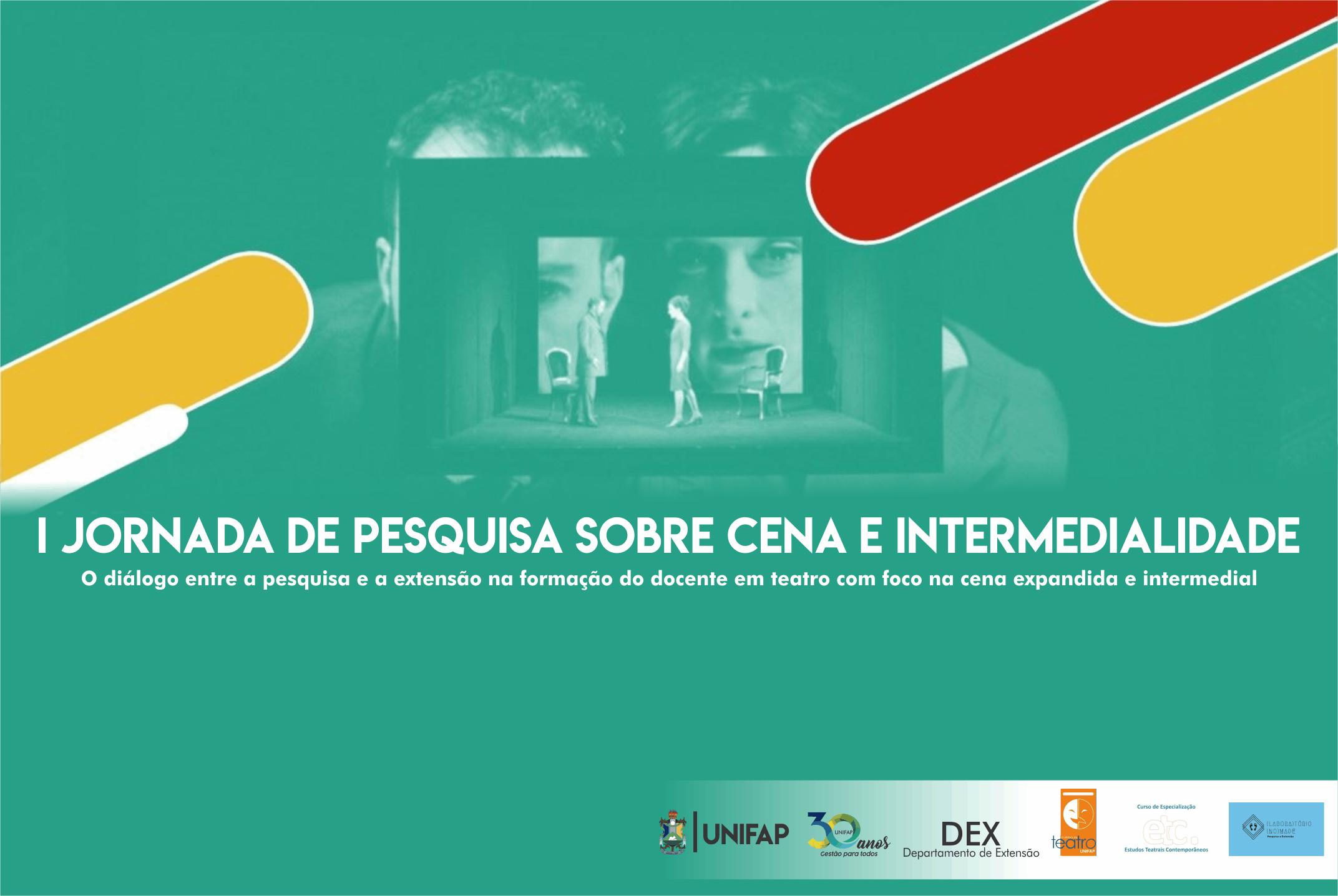 Curso de Teatro organizada 1ª Jornada sobre Cena e Intermedialidade