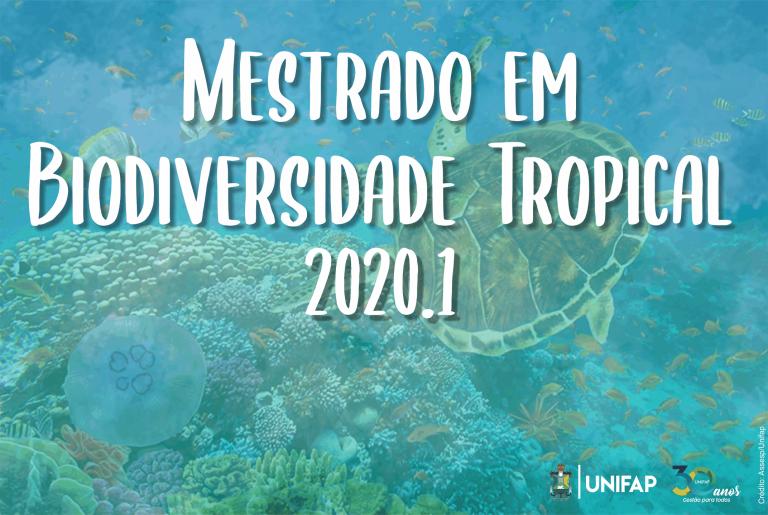 Mestrado em Biodiversidade Tropical abre seleção 2020