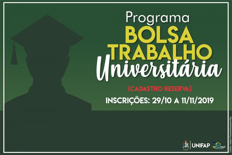 Programa Bolsa Trabalho seleciona estudantes da UNIFAP