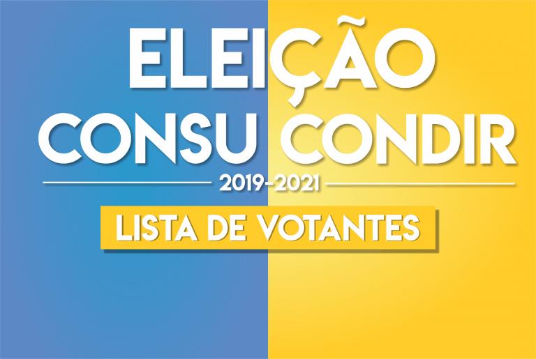 Comissão Eleitoral torna público listas de votantes CONSU/CONDIR