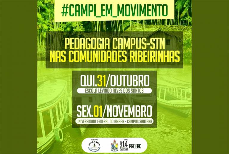 Campus Santana organiza atividades nas comunidades ribeirinhas