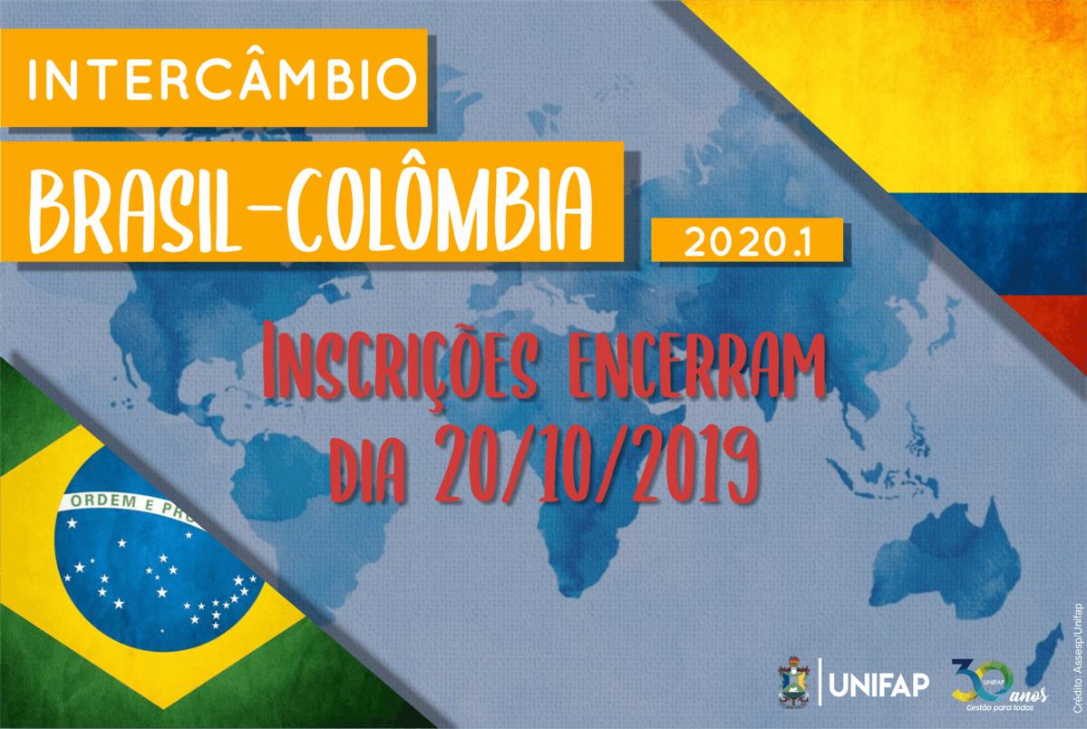 Programade Intercâmbio Brasil-Colômbia encerra inscrições dia 20