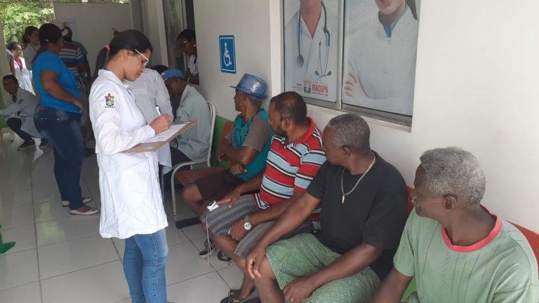 Curso de Fisioterapia promove ação na comunidade no Curiaú