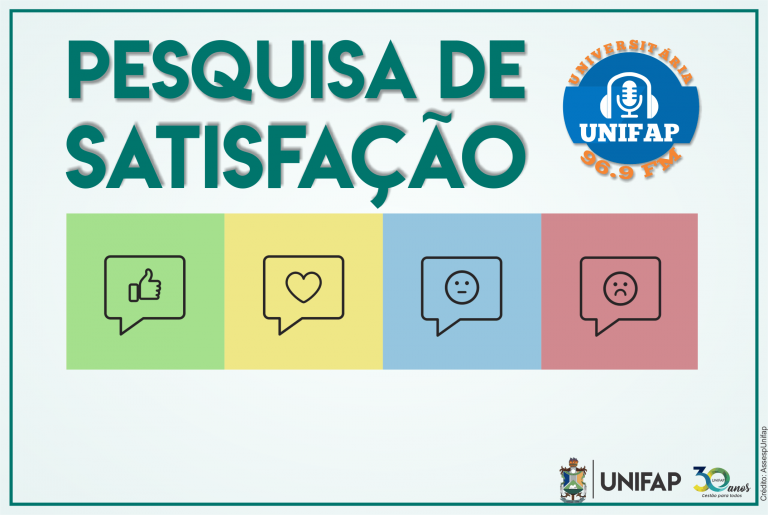 Rádio Universitária da UNIFAP lança pesquisa de satisfação