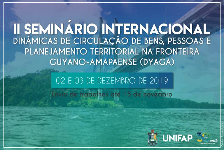 Campus Binacional receberá 2º Seminário Internacional Guyano-amapaense