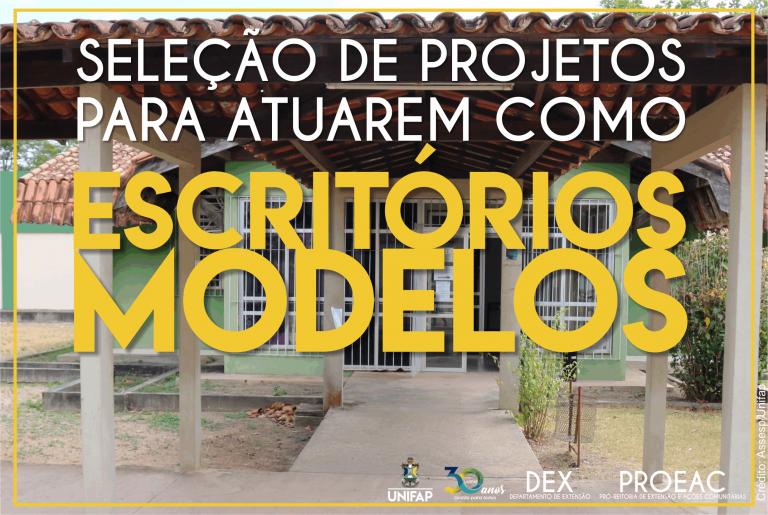 Resultado preliminar – Seleção de projetos de escritórios modelos – Edital nº 11/2019 DEX/PROEAC