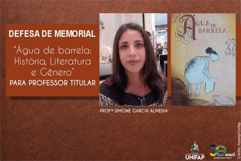 Docente da UNIFAP defenderá memorial para Professor Titular