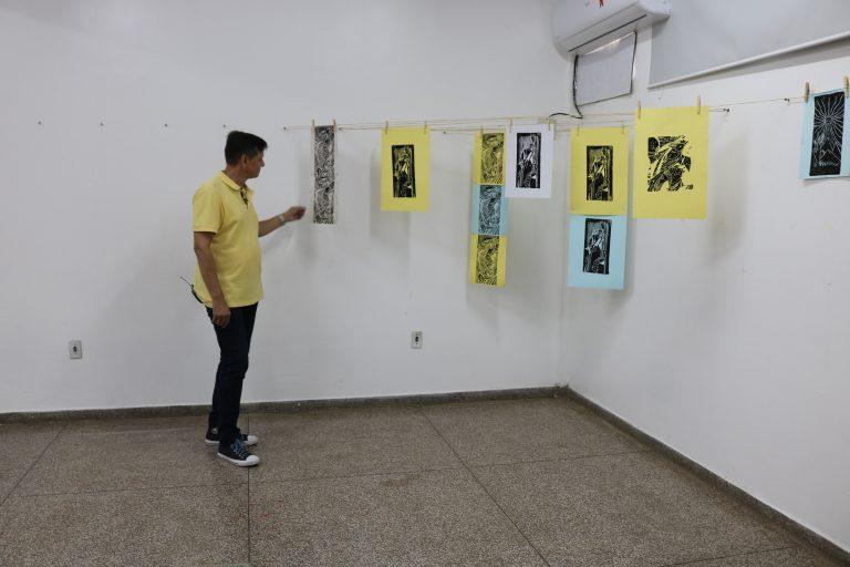 Exposição Xilogravuras apresenta trabalhos na Galeria de Artes 'Fátima Garcia'