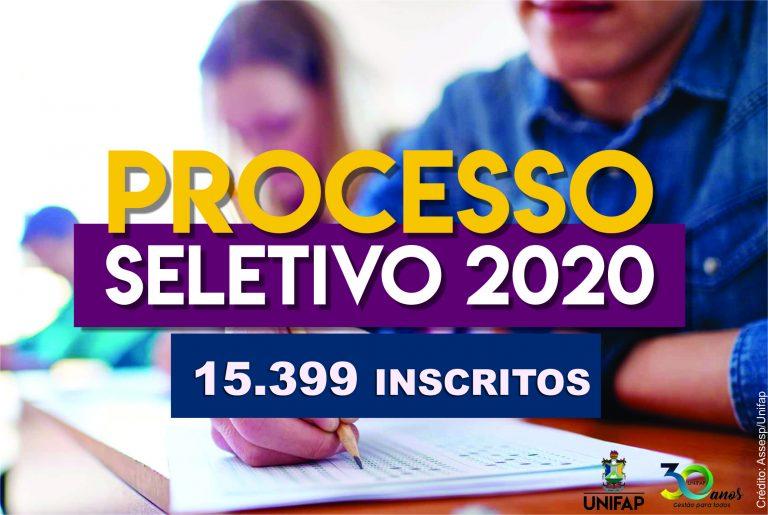 UNIFAP tem recorde de inscritos no PS 2020, são mais de 15 mil candidatos