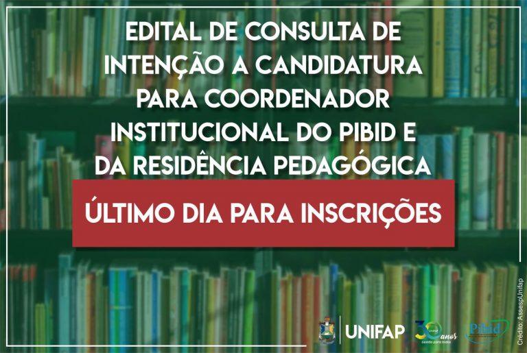 PIBID e Residência Pedagógica recebem candidaturas até hoje, 21
