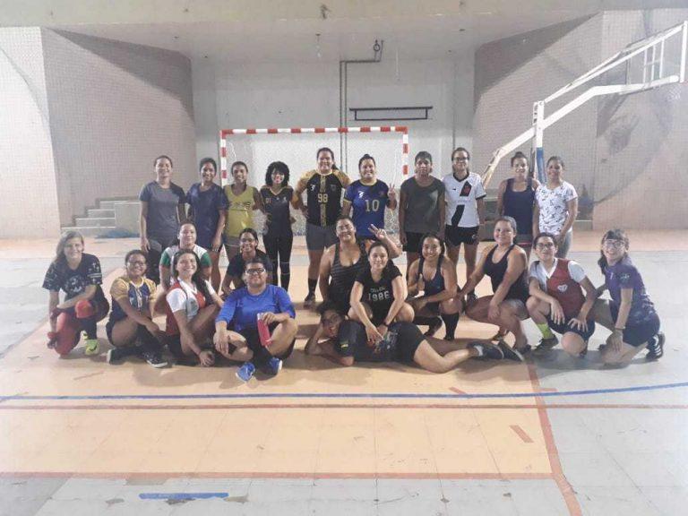Futsal Feminino continua com treinos na UNIFAP durante as férias.