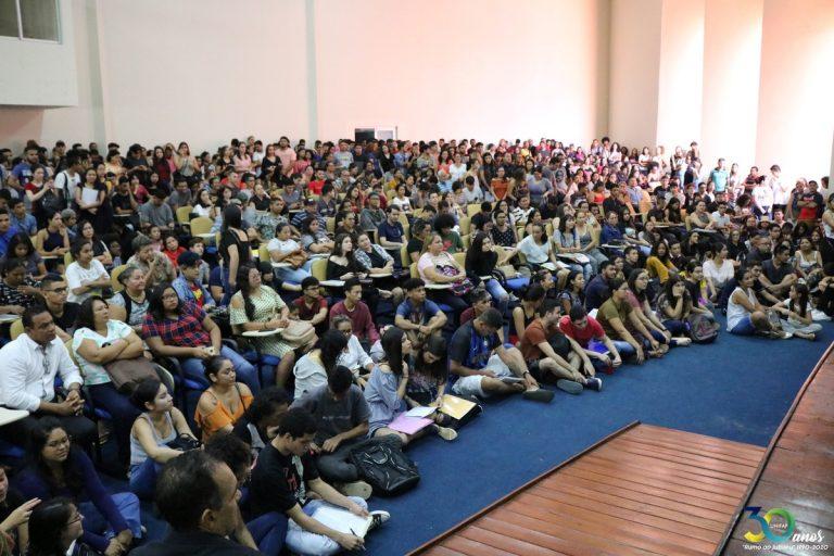 Chamada Pública do SiSU lota auditório da UNIFAP; mais de 500 candidatos