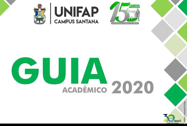 Campus Santana da UNIFAP publica 'Guia Acadêmico 2020'