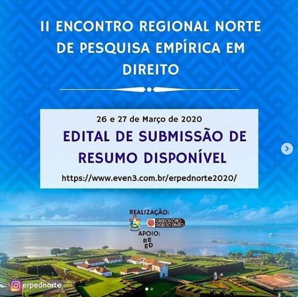 UNIFAP sediará 2º Encontro Regional Norte de Pesquisa Empírica em Direito
