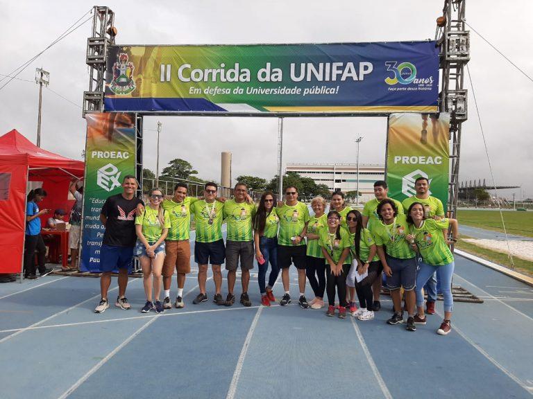 """Em clima de aniversário, 2ª """"Corrida da UNIFAP"""" reúne mais de 500 participantes"""