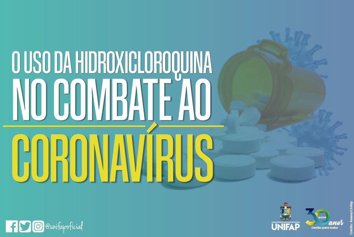 Curso de Farmácia alerta sobre uso da Hidroxicloroquina contra o Coronavírus