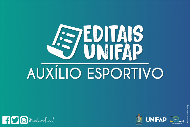 Auxílio financeiro esportivo – EDITAL Nº 04/2020/DACE/PROEAC/UNIFAP