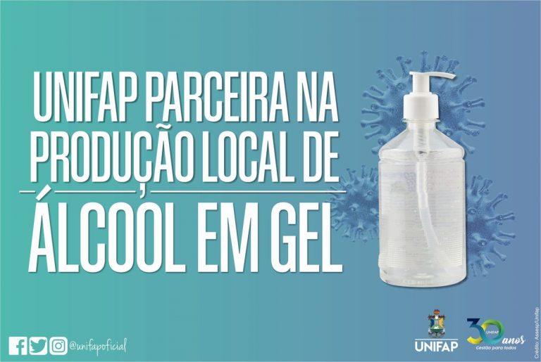 Coronavírus | UNIFAP será parceira na produção local de álcool em gel