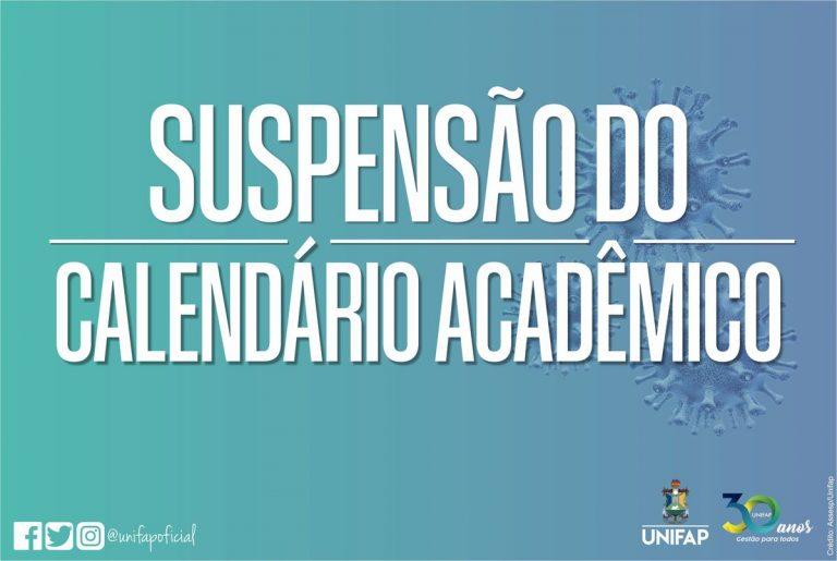 UNIFAP suspende atividades acadêmicas e administrativas por tempo indeterminado