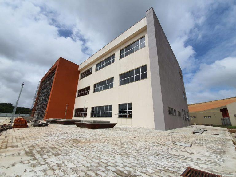 Nova Biblioteca Central da UNIFAP segue com obras avançadas