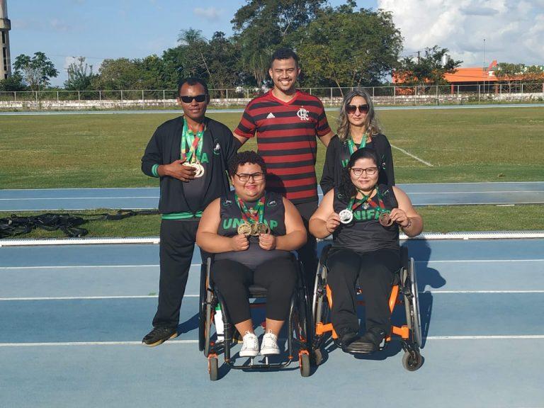 Atletas paralímpicos irão representar a UNIFAP em competição nacional