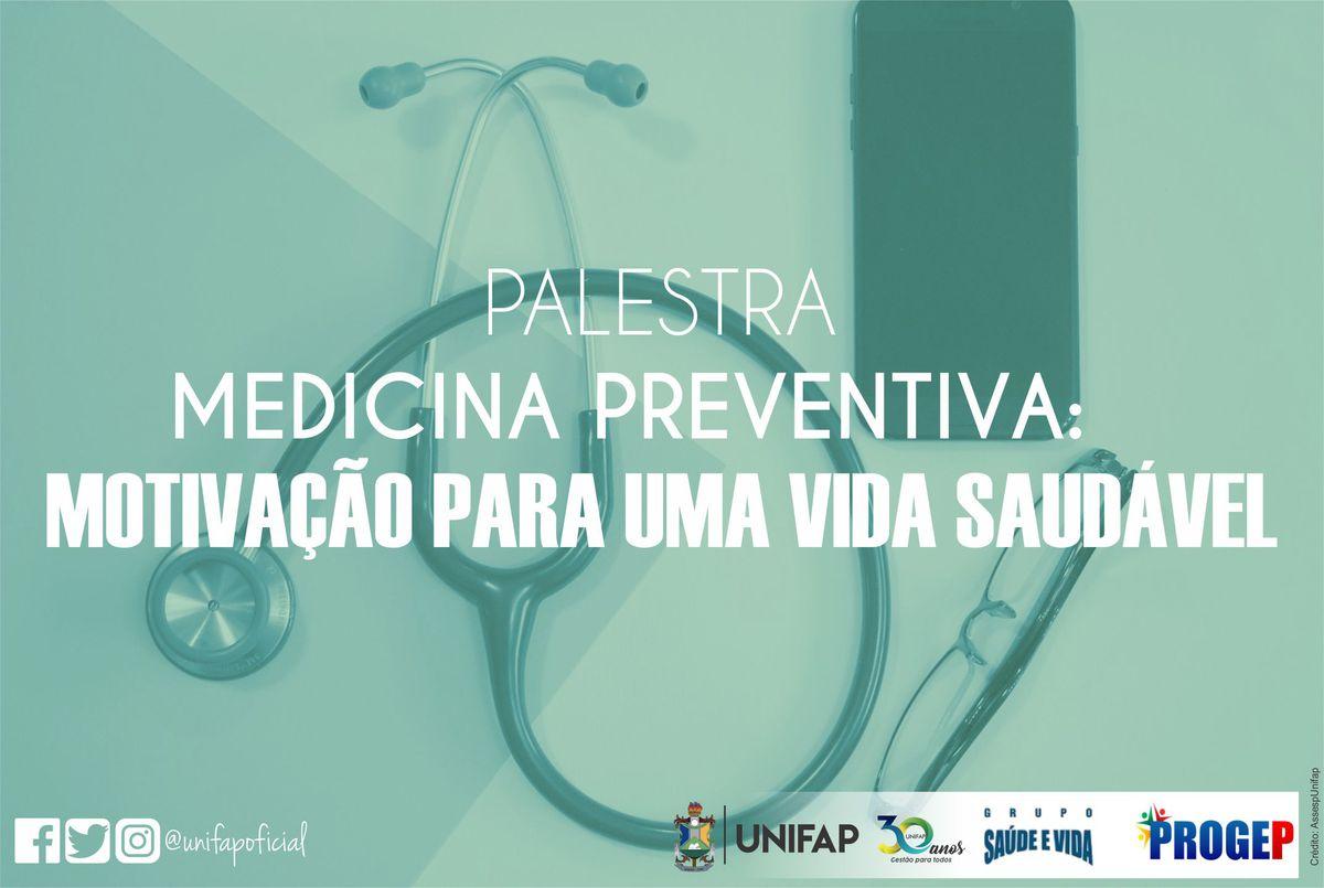 Evento abordará 'Medicina Preventiva' com orientações para vida saudável