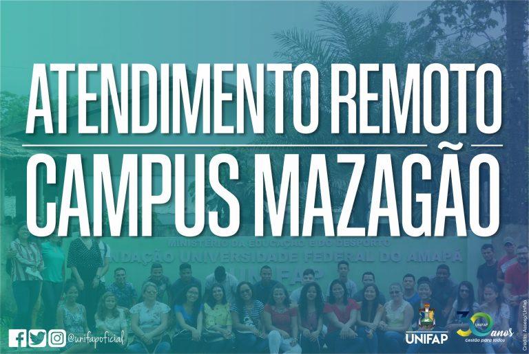 COVID-19 | Campus Mazagão oferece canais de atendimento online