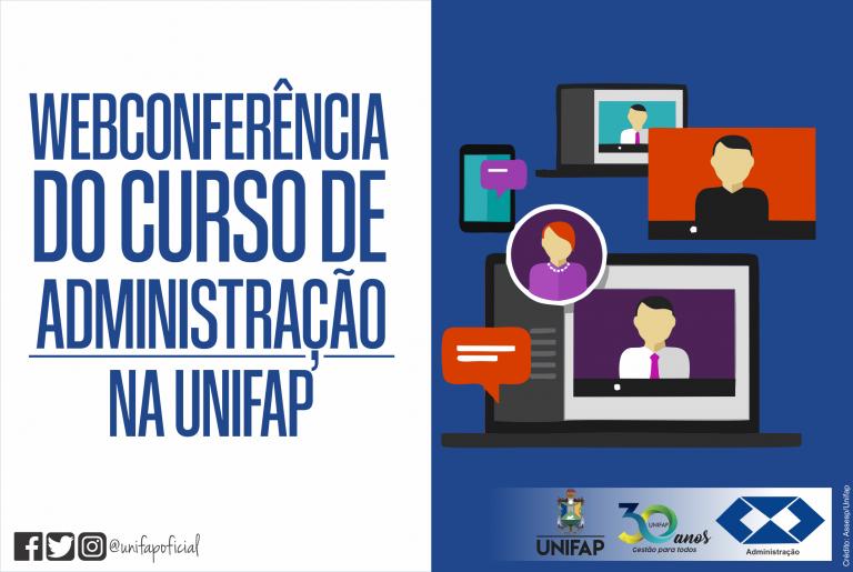 Curso de administração da UNIFAP realiza capacitação por Webconferência