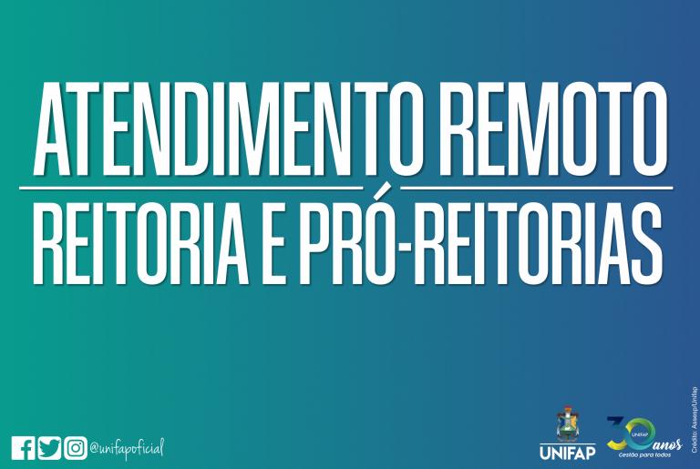 Protocolo Geral da UNIFAP segue com atendimento remoto