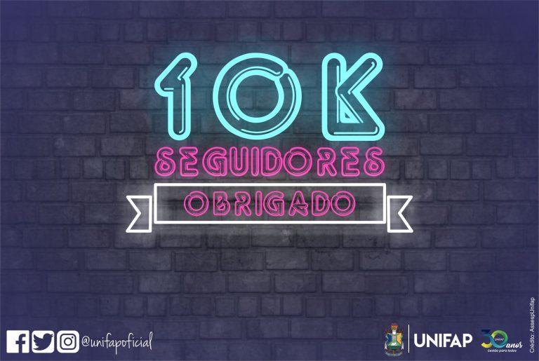 UNIFAP alcança 10 mil seguidores no Instagram