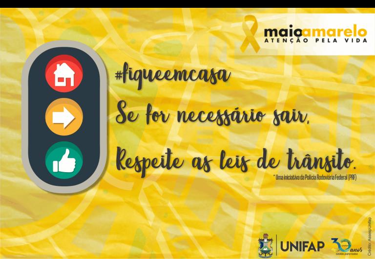 Conscientização no trânsito é o objetivo da Campanha 'Maio Amarelo'