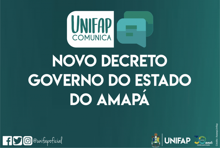 UNIFAP mantém suspensão das atividades acadêmicas e administrativas