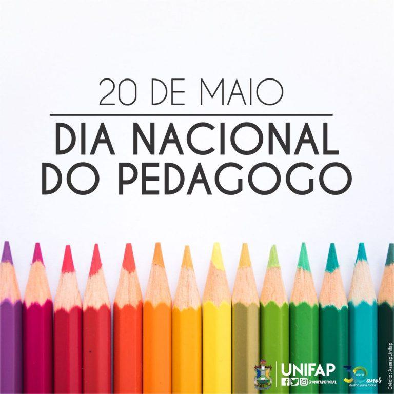 20 de maio é comemorado o 'Dia Nacional do Pedagogo'