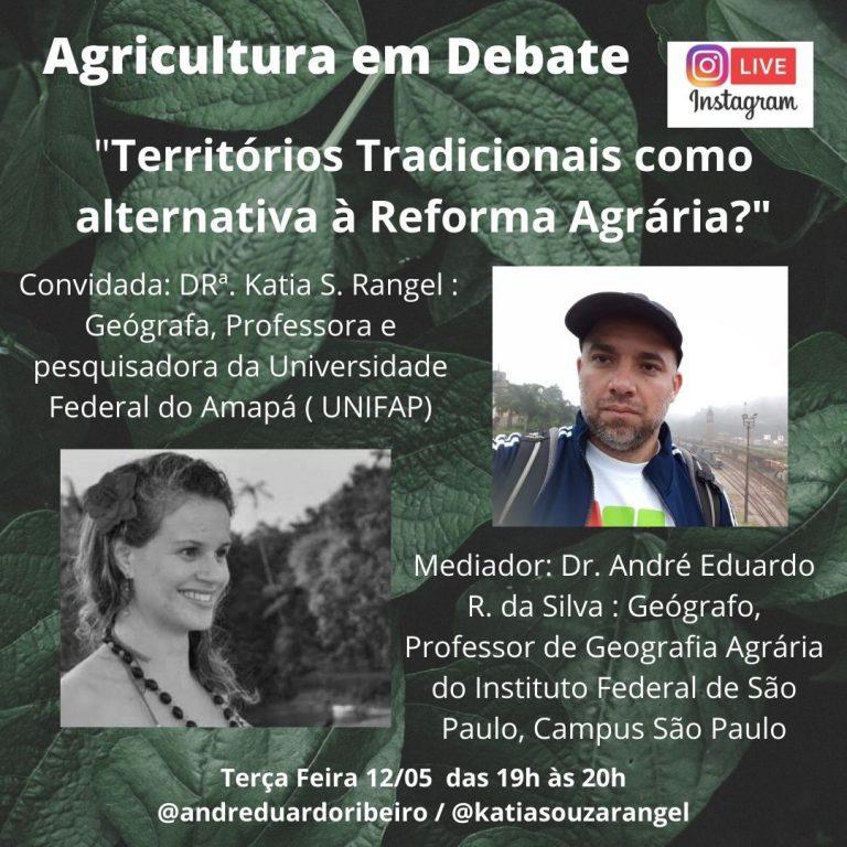 Docente da UNIFAP participa de Live sobre 'Reforma Agrária'