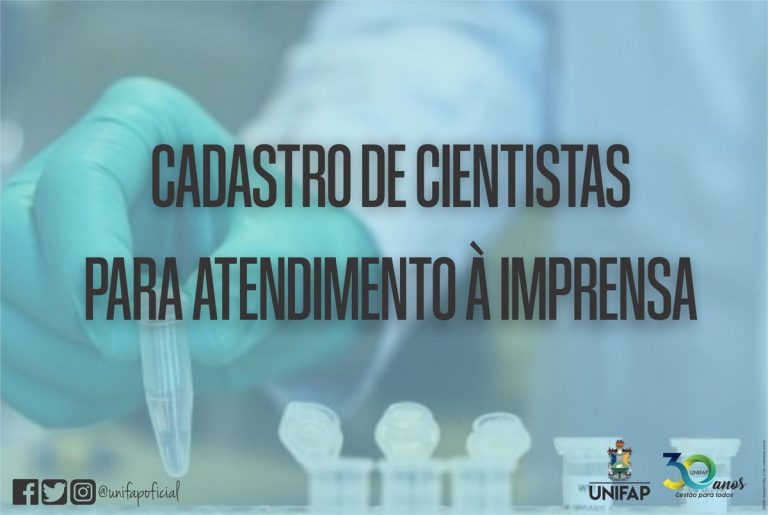 Agência Bori cadastra cientistas brasileiros para imprensa sobre o COVID-19