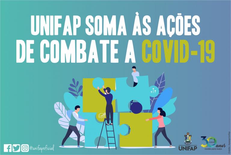 UNIFAP protagoniza ações na COVID-19 no Amapá, em três meses de isolamento