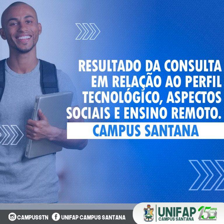 Campus Santana da UNIFAP divulga resultado da consulta sobre ensino remoto