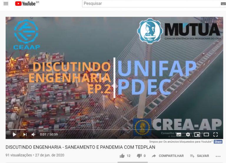 Curso de Engenharia Civil discute temas com a comunidade no Youtube