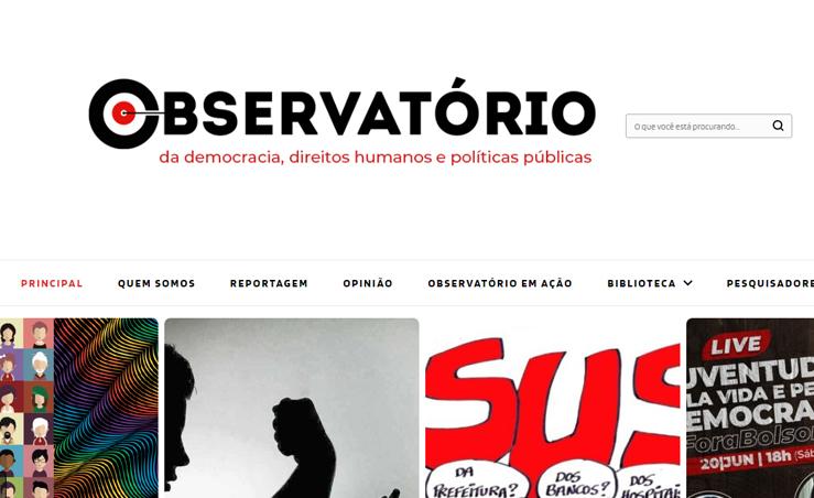 'Observatório da Democracia' libera acesso aos conteúdos da Agência de Notícias