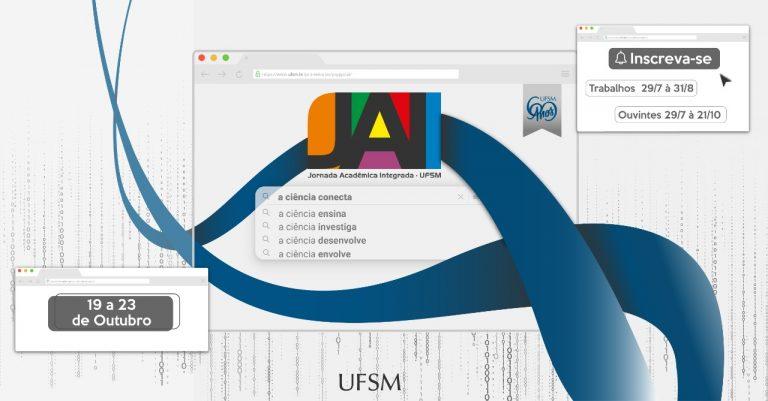 UFSM está com inscrições abertas para a 35° Jornada Acadêmica Integrada online