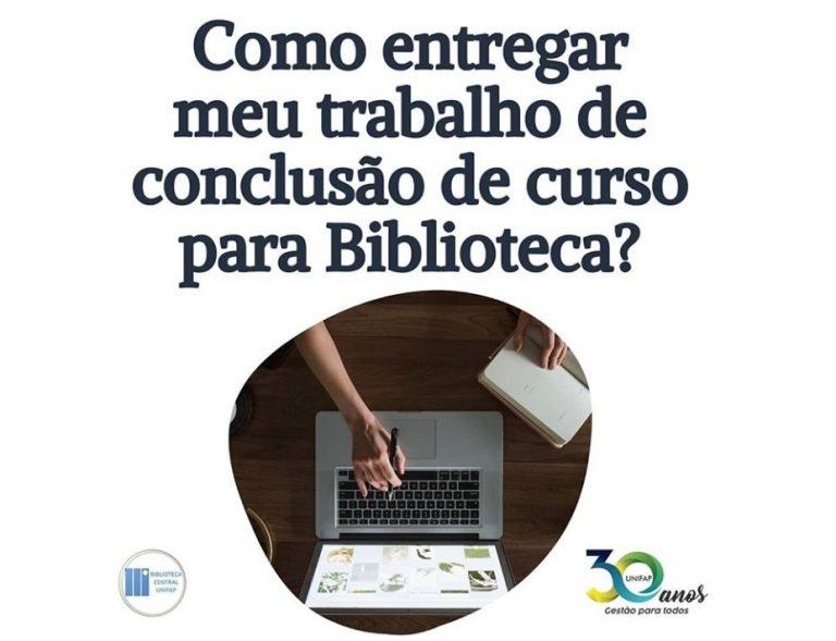 Biblioteca Central da UNIFAP recebe Trabalhos de Conclusão de Curso por meio digital